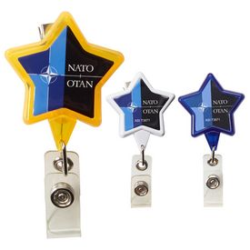 Custom Star Dome Secure-A-Badge