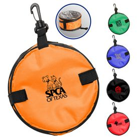 Promotional Collapsible Pet Dog Water Bowl
