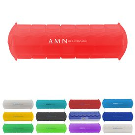 Promotional 7-Day Am-Pm Braille Medical Pill Case