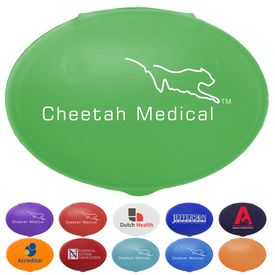 Promotional Oval Pill Box
