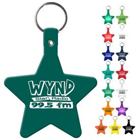 Customized Star Flexible Key Fob
