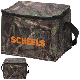 Customized Outdoor Camo 6-Pack Cooler
