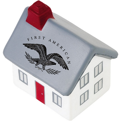 Promotional 2-Story Cottage House Stress Reliever