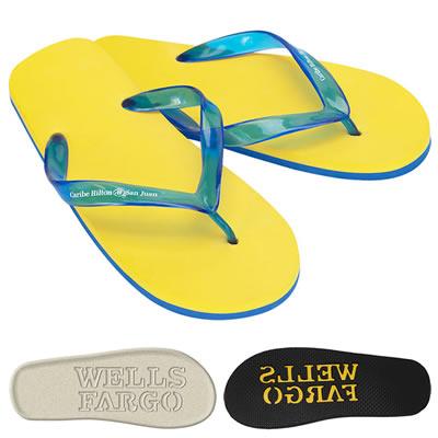 Promotional Wave Diecut Sandals
