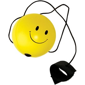 Promotional Smile Face Bounce Back Stress Reliever