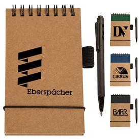 Custom Eco Micro-Pen Pocket Jotter