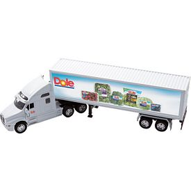Promotional 1:32 Scale Size Die Cast Kenworth T2000 With Trailer