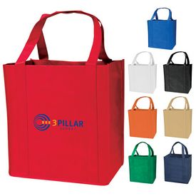 Promotional Medium Grocery Recyclable Tote Bag