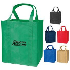Custom Large Grocery Recyclable Tote Bag
