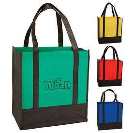 Promotional Two Tone Grocery Bag