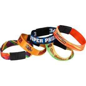 Promotional 3-4 Heavy Weight Satin Event Wristband