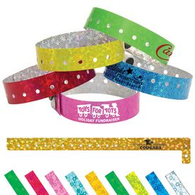 Promotional Liquid Glitter Party Access Wristband