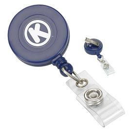 Promotional Retractable Swivel Bulldog Clip Badge Reel