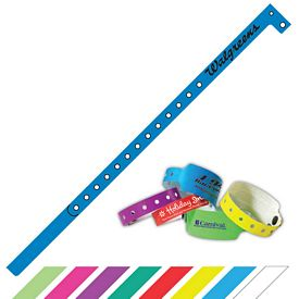 Custom 1-2 Super Plastic Party Access Wristband