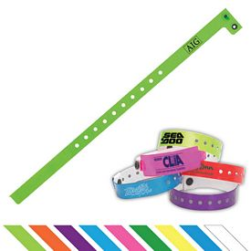 Promotional 1-2 Vinyl Event Access Wristband