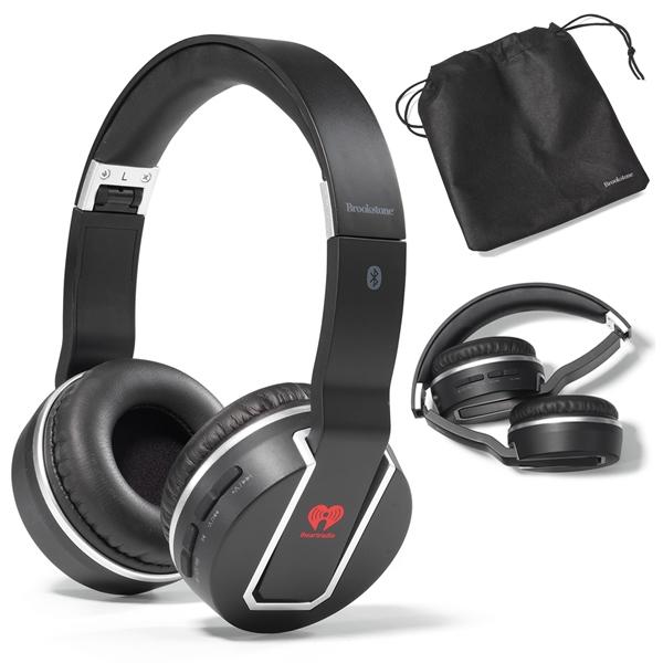 cdfd5c82469 Promotional Brookstone Sonic Bluetooth Headphones   Customized ...
