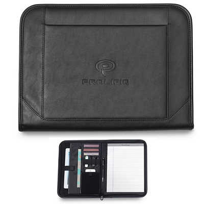 Promotional Endeavor 10.25x13.75 Zippered E-Padfolio
