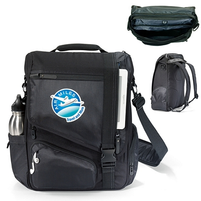 Promotional Life in Motion Polyester Momentum Computer Bag