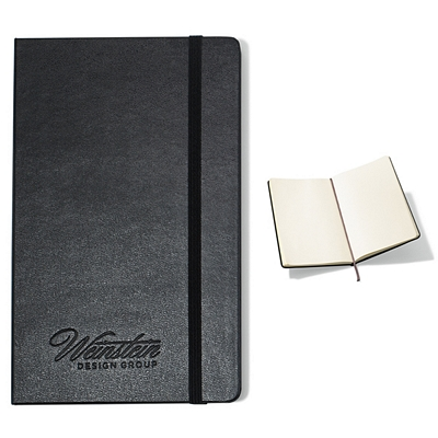 Promotional Moleskine Hard Cover Plain Large Notebook
