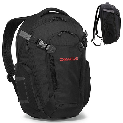Promotional Vertex Deluxe Polyester Computer Backpack