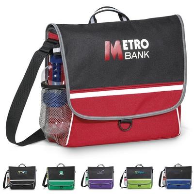 Promotional Midtown Polyester Messenger Bag