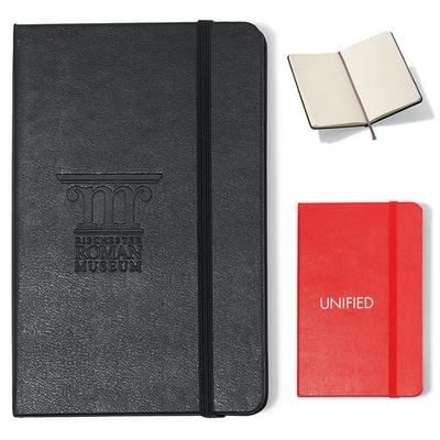 Promotional Moleskine Hard Cover Ruled Pocket Notebook