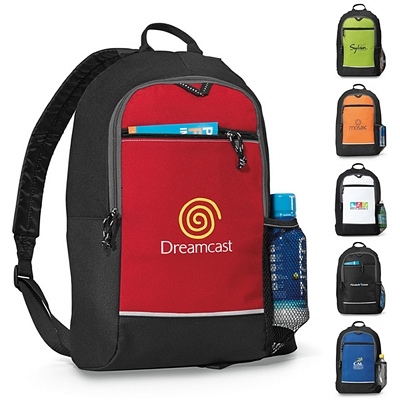 Promotional Essence Polyester Backpack