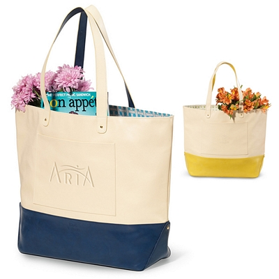 Promotional Isaac Mizrahia Evelyn Tote Bag