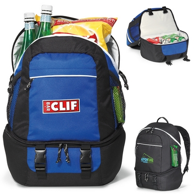 Promotional Summit Backpack Polyester Cooler