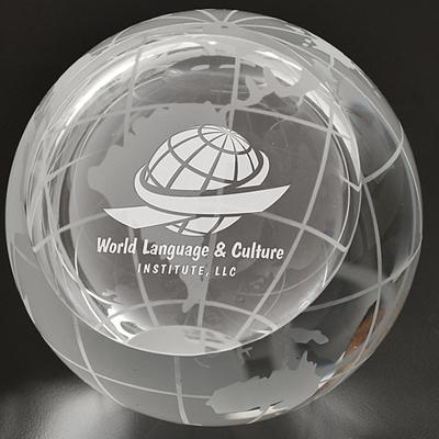 Promotional Large Magellan Globe Paperweight