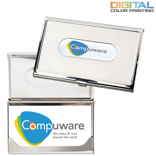 Promotional photovision business card holder customized for Promotional business card holder