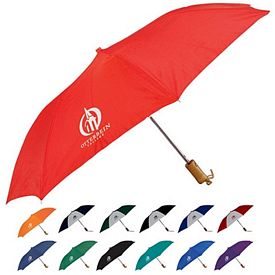 Promotional 42 Auto Open Folding Umbrella