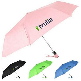 Customized 44 Auto Open Mini Umbrella