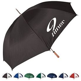 Promotional 60 Metal Sport Shaft Umbrella