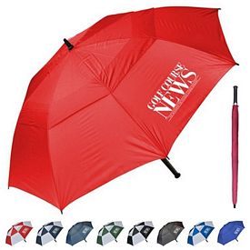 Customized 60 Windproof Golf Umbrella