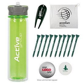 Customized Hydrate Bottle Golf Tournament Kit