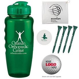 Promotional Sure Grip Bottle And Tech Golf Kit