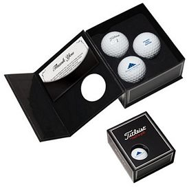 Custom Titleist 3-Ball Appreciation Box Factory Direct