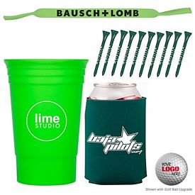 Promotional The Stag Cup-N-Cooler Golf Kit