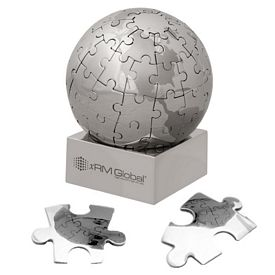 Promotional Globe Magnetic 72 Piece Small Puzzle