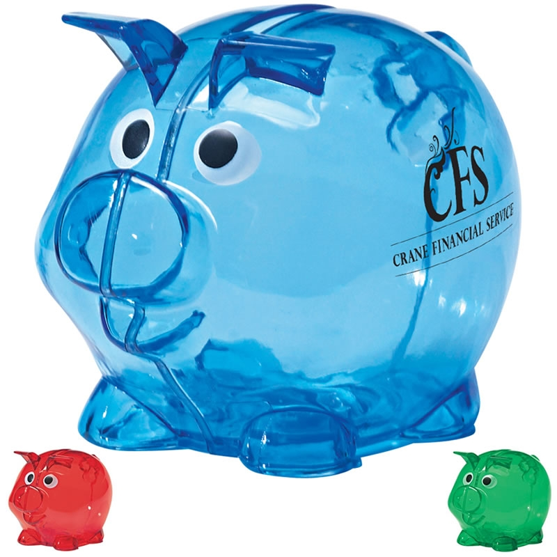 Promotional mini plastic piggy bank customized mini plastic piggy bank promotional piggy - Resin piggy banks ...
