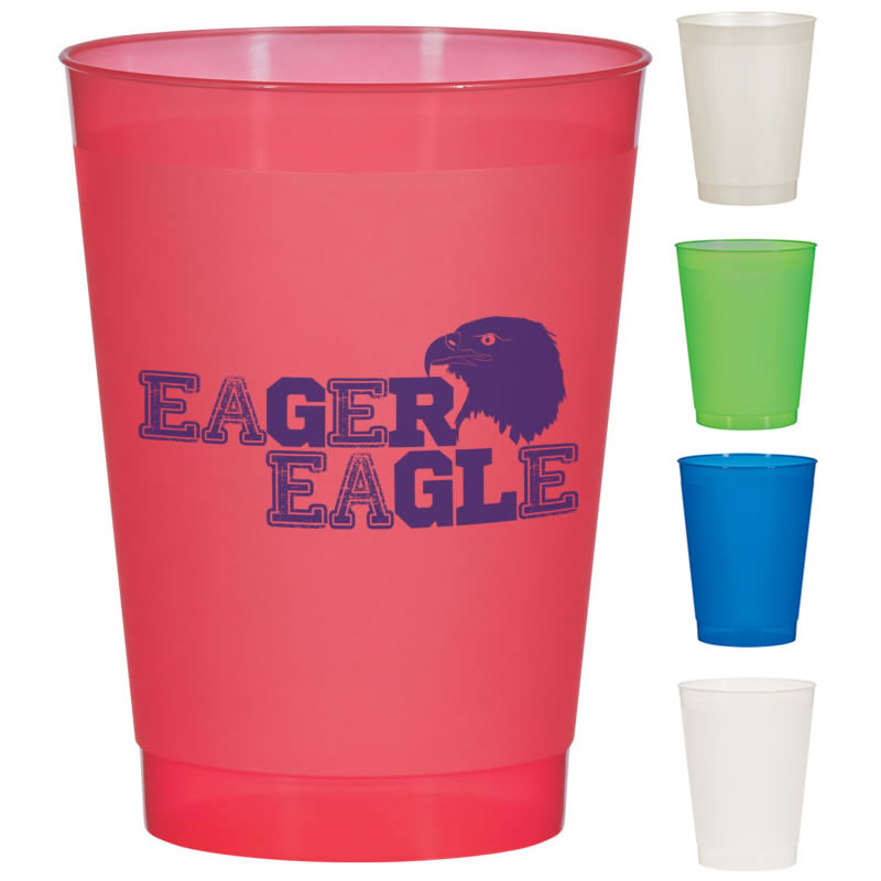promotional 10 oz  frost flex cup