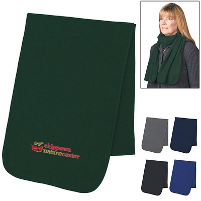 Promotional Winter Fleece Scarf