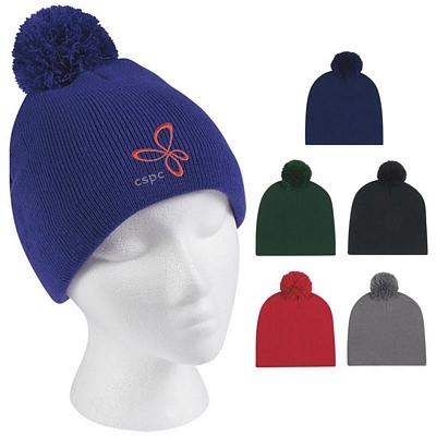 Promotional Knit Pom Beanie Cap