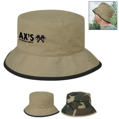 Custom Cotton Twill Bucket Hat