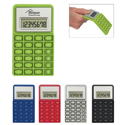 Promotional Mini Flexible Calculator