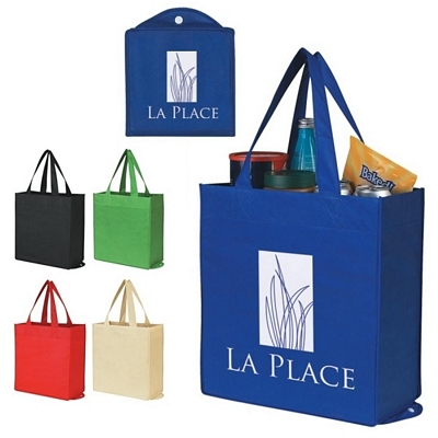 Promotional Nonwoven Foldable Shopping Tote Bag