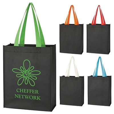 Custom Non-Woven Color Handle Mini Tote Bag