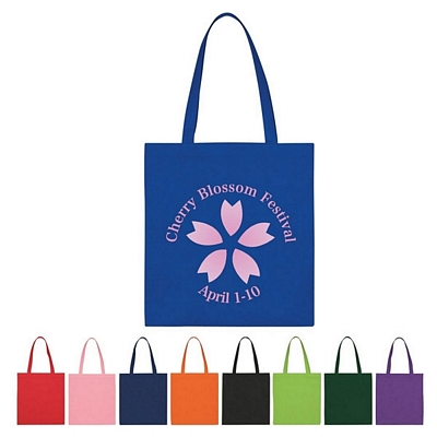Custom Nonwoven Expo Economy Tote Bag