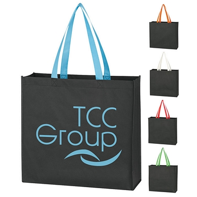 Promotional Non-Woven Color Handle Tote Bag